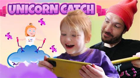 A For Adley Unicorn Catch 🦄 Adley App Reviews Her First