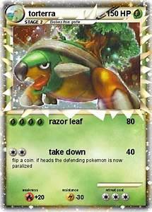 Pokémon torterra 424 424 - razor leaf - My Pokemon Card