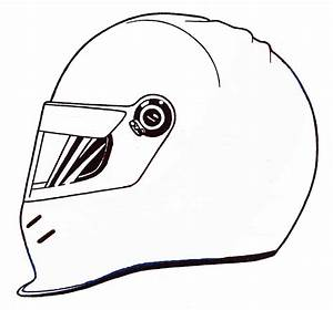 Free On Bike Helmet Coloring Pages