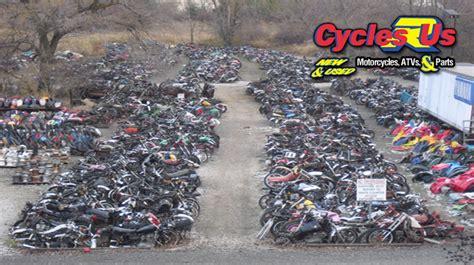 motorcycle parts salvage yard