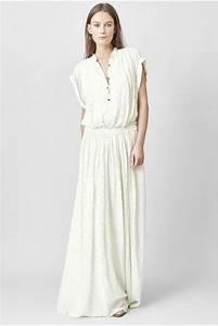 Robe Longue Style Boheme : robe longue blanche boheme ~ Dallasstarsshop.com Idées de Décoration
