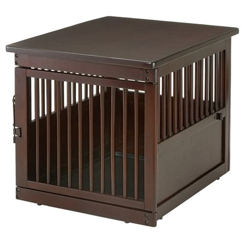 dog cage end table richell medium wooden end table dog crate radiofence com