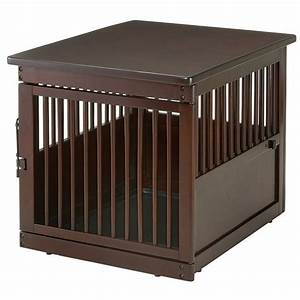 richell medium wooden end table dog crate radiofencecom With dog crate and table