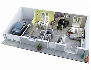 U00c9pingl U00e9 Par Nawal Fg Sur Plan Maison 3d En 2020