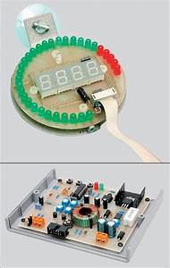 Pic16f88 Tachometer Circuit Led And Display Indicator
