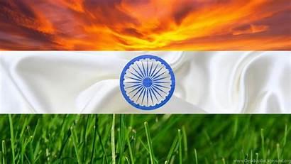 Flag Indian India Wallpapers Background Desktop