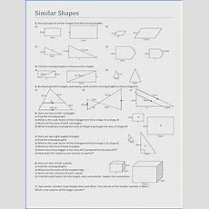 Scale Factor Worksheet Mychaumecom