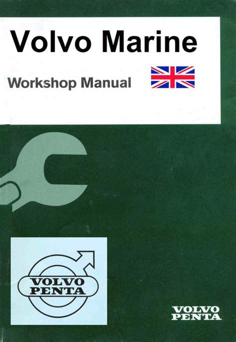 volvo penta mdb   instructions maintenance manual