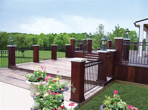 fortress railing rocky mountain forest products