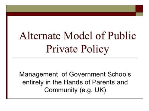 alternate model  ppp