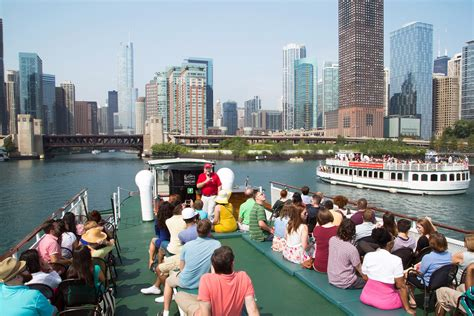 Chicago Boat Tours River by Chicago Architecture Foundation Center River Cruise Aboard