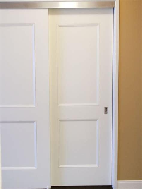 bypass doors closet houzz
