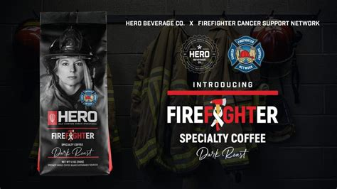 Hero Coffee - Firefighter Cancer Support Network