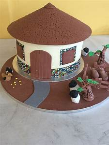 The Ndebele Traditional Wedding Cake - CakeCentral com