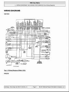 1992 Geo Prizm Engine Diagram