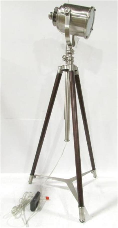 pottery barn photographer s tripod floor l ebay