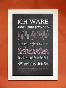 50 Geburtstag Schwester : digitaldruck kunstdruck gro e schwester ein designerst ck von foto design digital art bei ~ Frokenaadalensverden.com Haus und Dekorationen