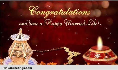 Congratulations On Wedding! Free Around The World Ecards