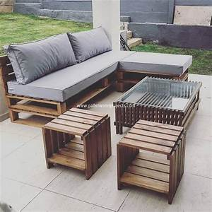 Prepare amazing projects with old wood pallets pallet for Wooden pallet furniture