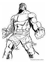 Gambar Hulk Mewarnai Coloring Sketsa Pages Sketches Drawing Web sketch template