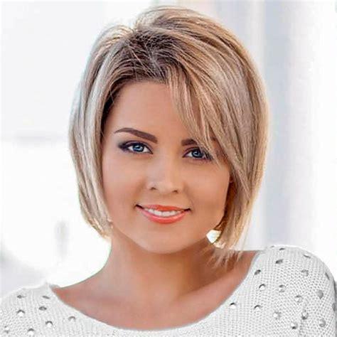 frisuren für halblange haare blonder bob frisurenbilder