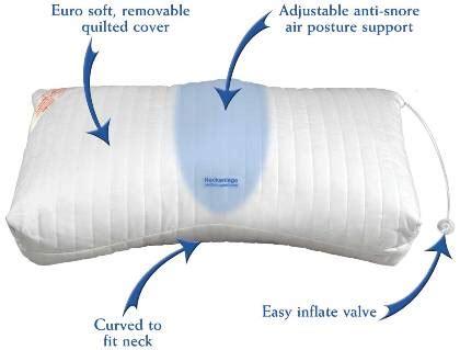 anti snoring pillow anti snore pillow helps stop snoring