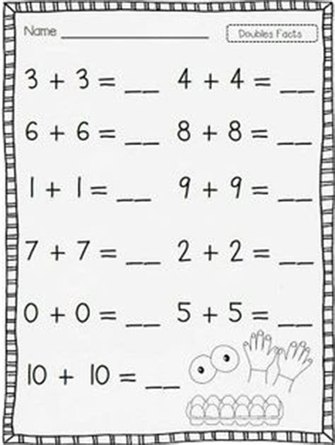 Adding Doubles Plus One Worksheets  Addition  Doubles  Worksheet  Free Printable Worksheets