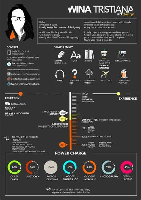 50 simple creative resume cv design ideas exles