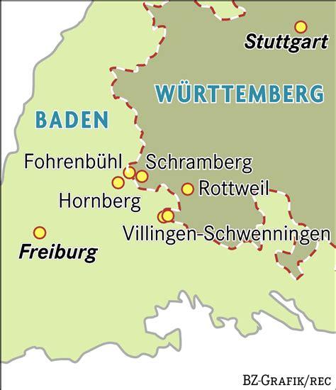 grenze baden württemberg deutschland deine grenzen unter schwaben s 252 dwest badische zeitung
