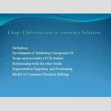 Chap 1 Introduction To Consumer Behavior Authorstream