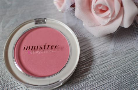 Harga Innisfree Blush On innisfree mineral blusher review swatch 4