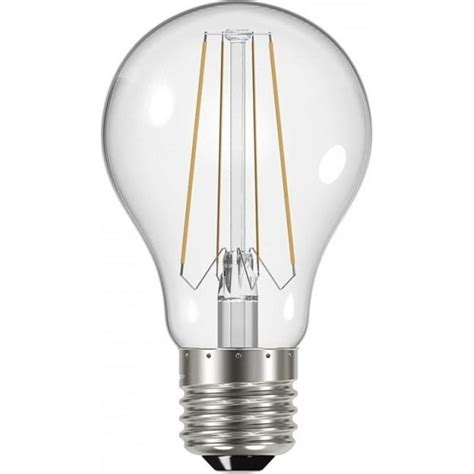 6 2 watt es traditional shape light bulb low energy