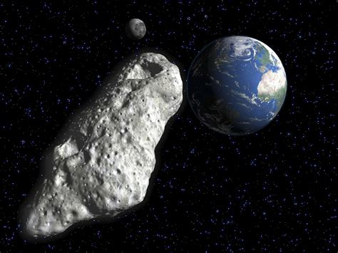 Small Asteroid Buzzes Earth Today! How to See It Online