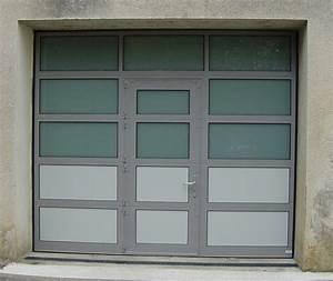 Porte De Garage Sectionnelle Avec Porte : portes de garages basculantes sectionnelles auxerre ~ Edinachiropracticcenter.com Idées de Décoration