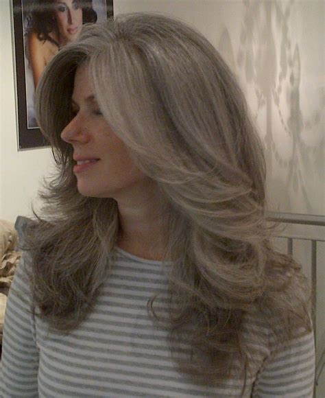 1000 Ideas About Long Gray Hair On Pinterest Gray Hair