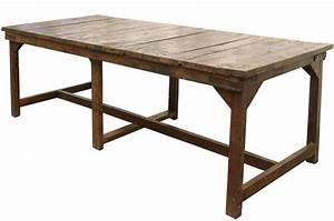 Tables Anciennes Rcupres Vintage De Grandes Dimensions