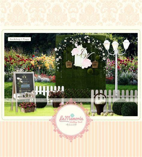 garden themed photobooth by la memoria wedding event