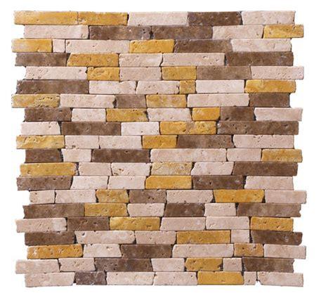 menards peel and stick mosaic tile stoneskin 174 travertine peel n stick mosaic tile 5 8 quot x