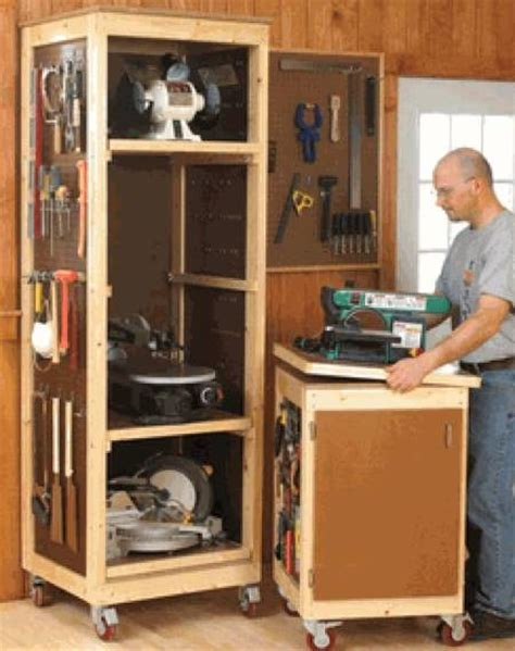 shopsmith tool storage plans woodworking projects plans