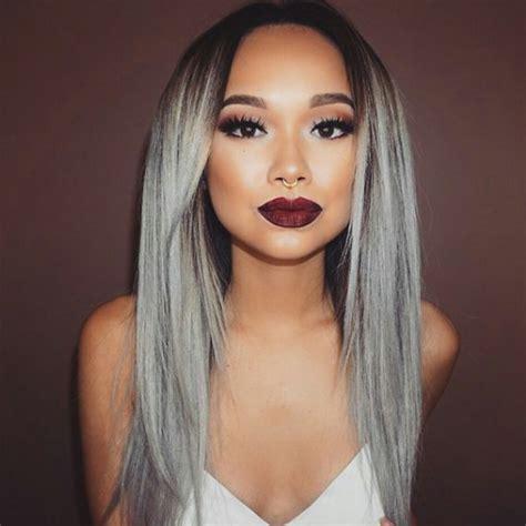 Trend Alert Grey Hair La Femme Rebelle Clothing