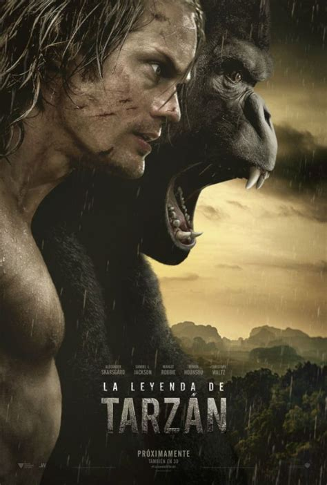 La leyenda de Tarzán   Tarzan pelicula, Ver peliculas ...