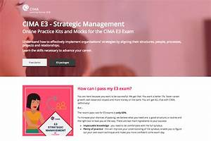 E3 Strategic Management
