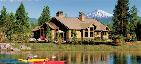 cabin rentals oregon sunriver resort central oregon vacation rentals