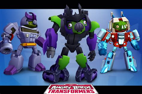Angry Birds Transformers  Ultimate Megatron Unlocked New