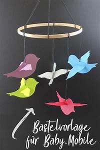 Mobile Selber Basteln Papier : baby mobile basteln plotterfreebie bastelvorlage handmade kultur ~ A.2002-acura-tl-radio.info Haus und Dekorationen