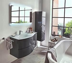 Meuble De Salle : meubles de salle de bains vague castorama ~ Nature-et-papiers.com Idées de Décoration