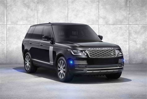 land rover introduces  latest version   armored