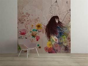 Fresque Murale Papier Peint : grande fresque murale f e d 39 automne papier peint ~ Melissatoandfro.com Idées de Décoration