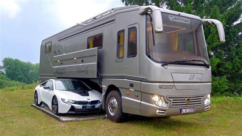 decouvrez linterieur du camping car le  luxueux du