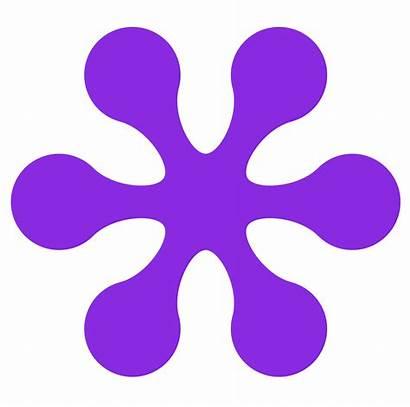 Clipart Clip Violet Flower Purple Retro Colour